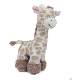 Staande pluche Giraffe 28 cm
