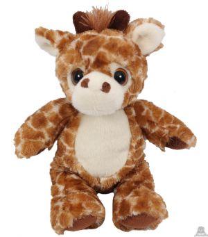 Zittende Giraffe 30 cm met grote ogen. OP=OP!