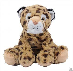 Zittende pluche Cheeta 25 cm