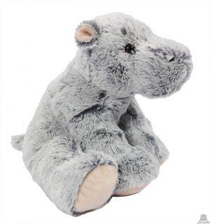 Zittend pluche Nijlpaard 25 cm