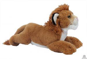 Liggende pluche leeuw 30 cm.