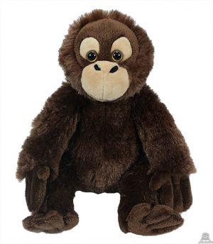 Pluche zittende Orang-oetan 20 cm