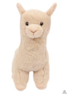 Staande Alpaca beige 17 cm.