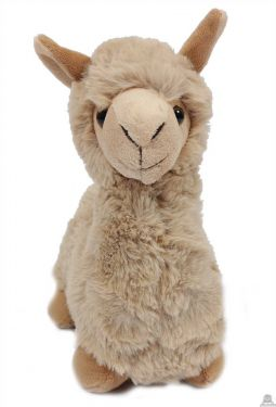 Staande Alpaca ecru 29 cm.