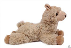 liggende Alpaca beige 32 cm.