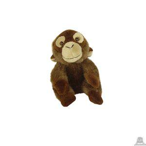 Zittende pluche orang oetan beide van 15 CM.