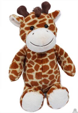 Zittende pluche Giraffe 25 cm