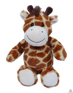 Zittende pluche Giraffe 15 cm