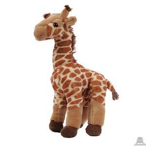 Staande pluche giraffe beide van 45 CM.