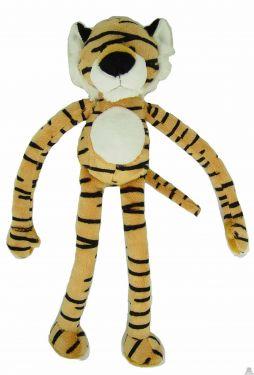 Hangende pluche tijger beide van 40 CM.