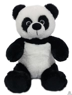 Zittende pluche Panda 21 cm
