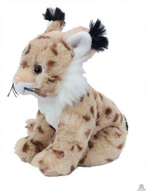 Zittende pluche Lynx 20 cm