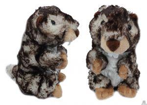 Staande pluche Marmot staand 16 cm