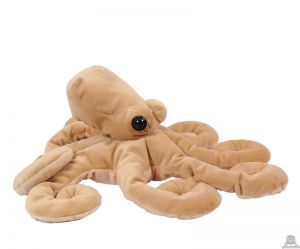 Staande pluche octopus beide van 60 CM.