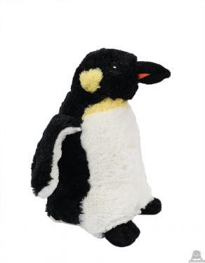 Staande pluche pinguin beide van 24 CM.