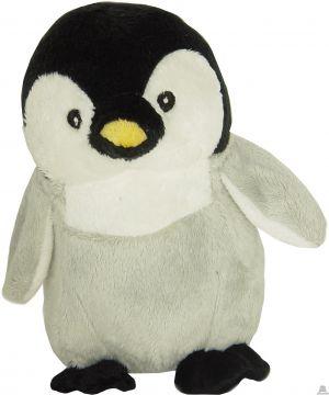 Staande soft-pluche pinguin beide van 15 CM.