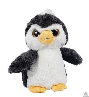 Staande pluche pinguin beide van 21 CM.