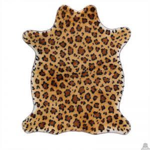 Liggende pluche luipaard beide van 90 CM.
