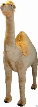 Staande pluche Dromedaris 175 cm Levensgroot