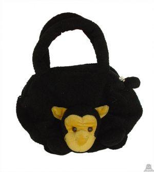 Hangende pluche chimpansee beide van 22 CM.