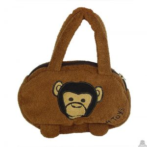 Liggende pluche handtas. De knuffel is geschikt voor zowel een jongen als meisje van 23 CM.