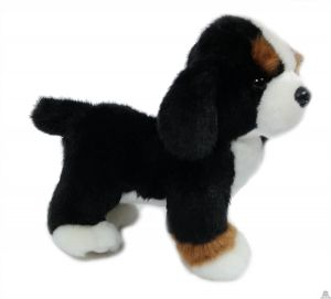 Staande pluche Hond Berner sennen 20 cm