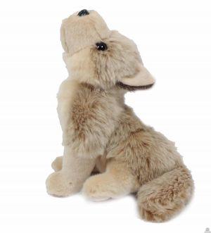 Pluche zittende wolf 20 cm