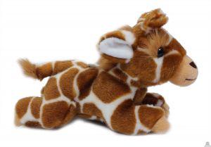 Liggende pluche Giraffe 20 cm