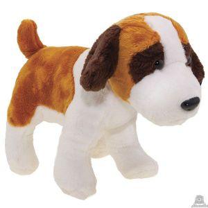 Staande pluche Hond sint-bernard 23 cm