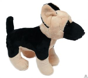 Staande pluche Hond Duitse herder 23 cm