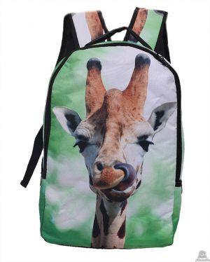 Stoere Rugzak Giraffe.