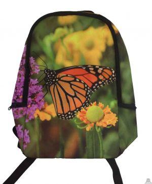 Stoere rugzak vlinder.