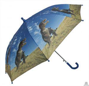 Stoere kinderparaplu dinosaurus 90 cm