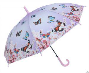 Stoere paraplu vlinders in 6 verschillende kleuren 100 cm