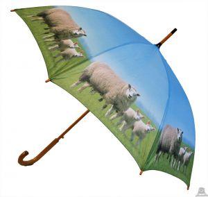 Stoere paraplu met schaap 100 cm