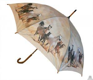 Stoere paraplu met paard 100 cm