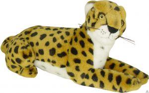 Liggende pluche cheeta. De knuffel is geschikt voor zowel een jongen als meisje van 40 CM.